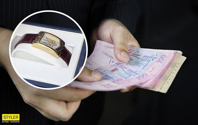 Зеленский в Новых Санжарах подарилэвакуированному часы: сколько стоит такой презент