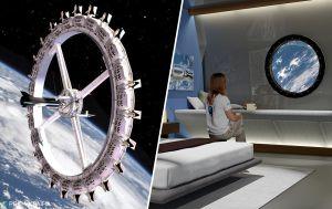 Неземной отдых: на космической станции построят первый отель для туристов