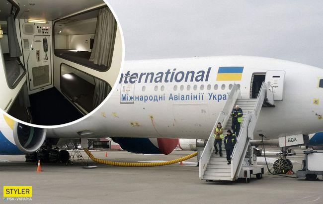 Прихований готель у найбільшому літаку України: ці фото вас здивують