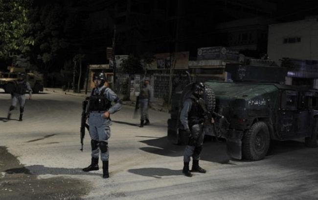 Фото: афганські сили безпеки знешкодили нападників на готель
