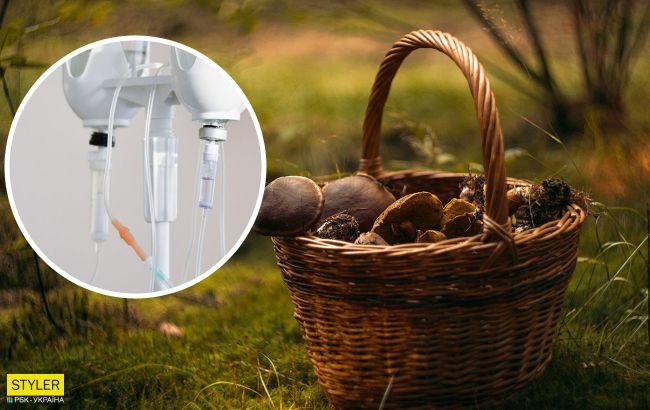 Під Черніговом четверо дітей важко отруїлися грибним супом: горе-мати чергує під реанімацією