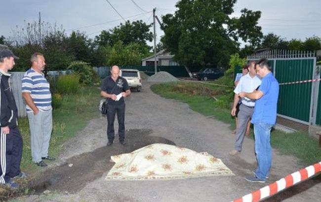Фото: у розпорядженні слідчих опинилося відео із записом вбивства у Кривому Озері