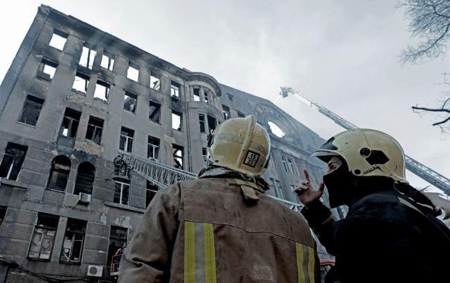 Очень больно и ужасно: студентка со слезами на глазах рассказала о пожаре в Одессе