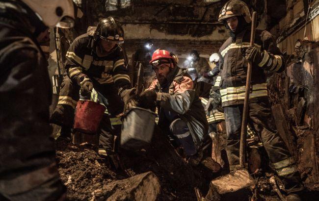Число жертв в результате пожара в Одессе продолжает расти