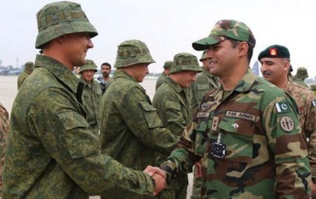 Российская Федерация иПакистан проведут общие военные учения
