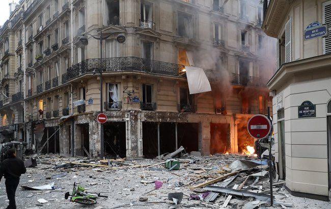 У Парижі стався сильний вибух