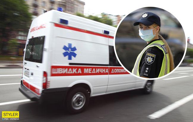 В Киеве девушка избила ногами патрульную: детали скандала