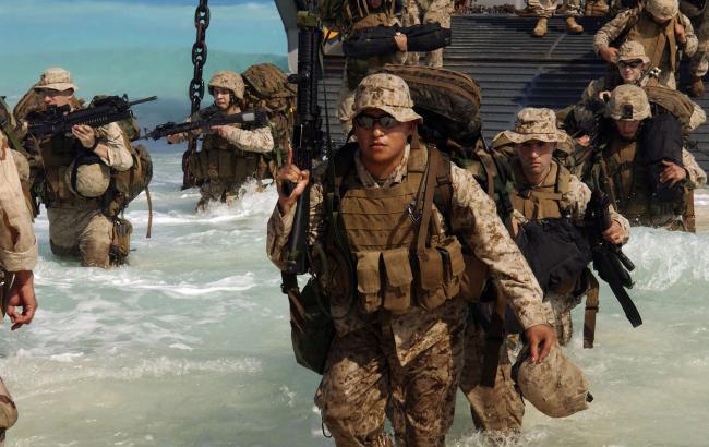 Фото: морські піхотинці США тимчасово розмістяться у Норвегії