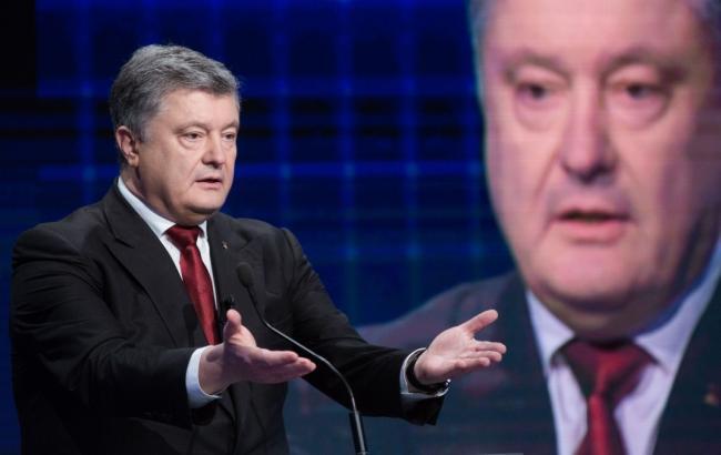 Порошенко заявил, что специалисты перехватили данные с военных спутников РФ накануне Дня Независимости