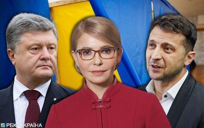 Убрать лишнего: с кем и как планируют выходить во второй тур выборов Зеленский, Тимошенко и Порошенко