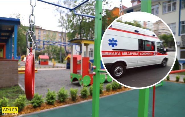 В Одессе ребенок впал в кому после игры на детской площадке: что произошло