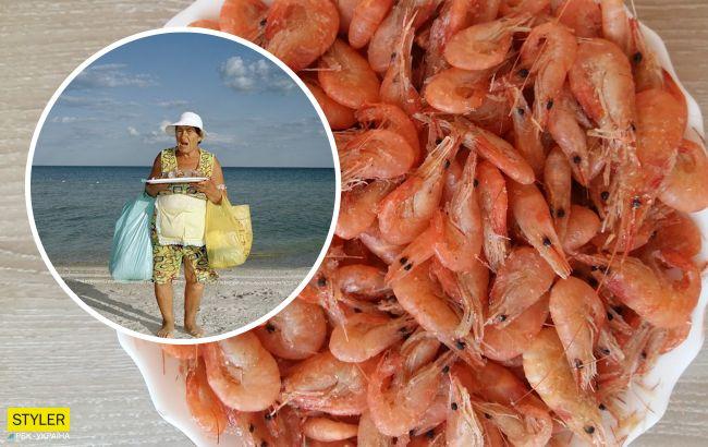 Пляжные продавцы поделились секретами: где брать креветки и остаться в живых