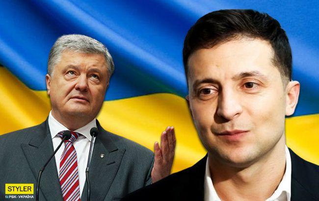 Дебаты Зеленского и Порошенко: лучшие мемы и фотожабы