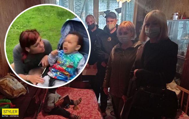 """У Харкові мати побила 1,5-річного сина """"з метою виховання"""" у всіх на очах: чим це закінчилося (відео)"""