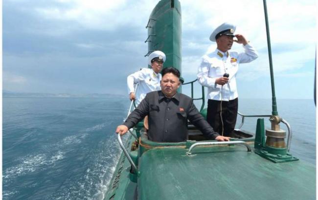 Фото: КНДР будує нові доки для підводних човнів з ракетами