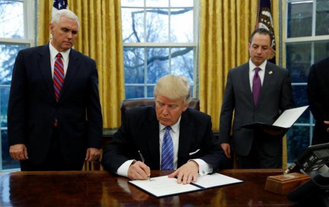 Трамп подписал очередные указы
