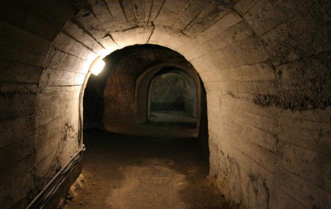 Удивительная находка: на Украине нашли старинное подземелье