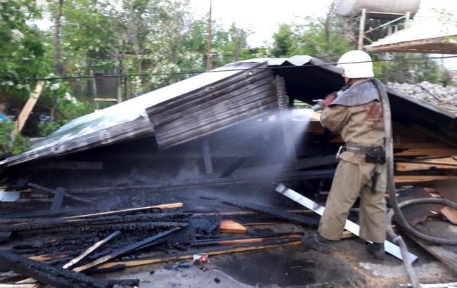В Одесской области горели две базы отдыха, возможен поджог