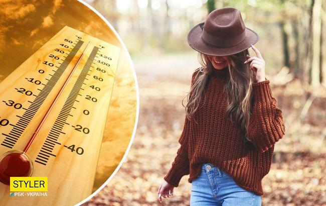 Еще немножко лета: где в Украине будет сегодня теплее всего