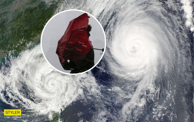 Украина пострадает сразу от двух циклонов: синоптик объявила штормовое предупреждение