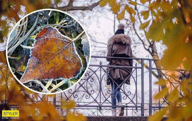 На Украину двигаются морозы и снега: когда именно их ждать