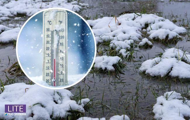 Снег и заморозки: синоптик дала прогноз на начало недели