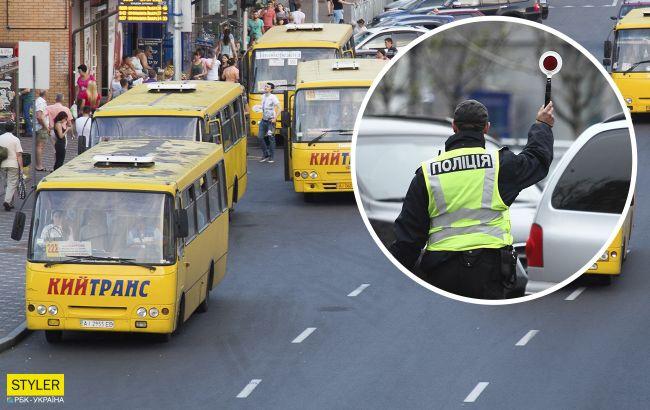У Києві маршрутник під кайфом возив пасажирів: чим це закінчилося