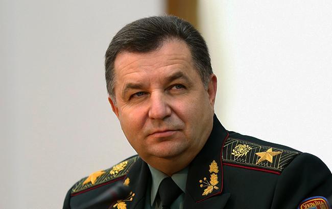 Україна планує посилити співпрацю з Грузією в рамках НАТО, - Полторак