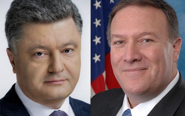 Порошенко і Помпео скоординували позиції щодо висновків розслідування збиття МН17