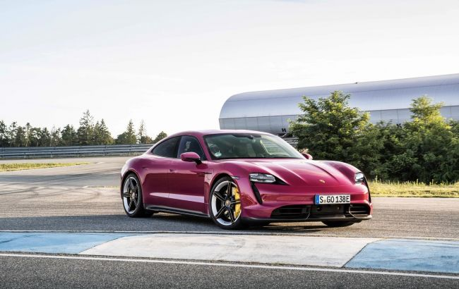 Электрический Porsche Taycan с обновлением прибавил в запасе хода