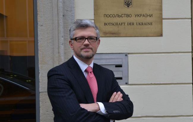 Фото: посол України у ФРН Андрій Мельник побоюється вторгнення Росії з Криму