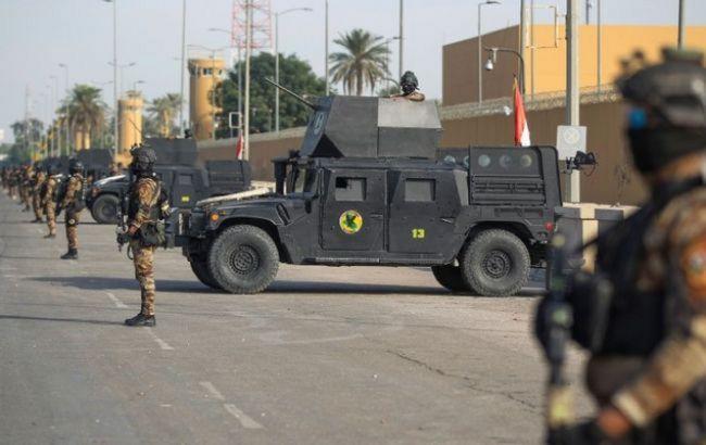 """У Багдаді в районі """"зеленої зони"""" впала ракета"""