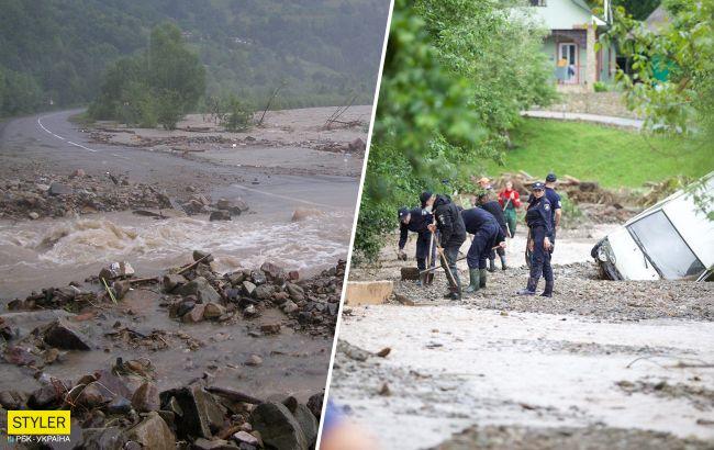Закарпатье снова затопило: стихия ударила в два раза сильнее (фото, видео)