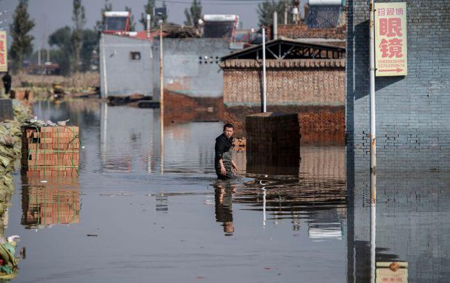 Китай накрыло мощное наводнение