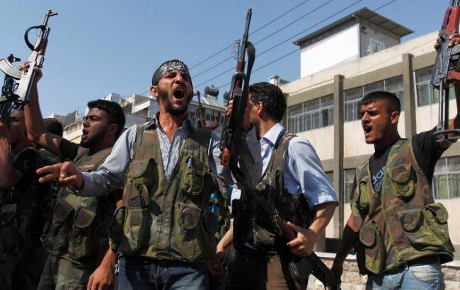 Фото: сирійські повстанці