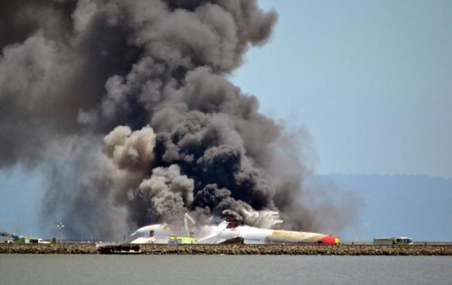 Фото: у результаті падіння літака в Ростовській області ніхто не вижив