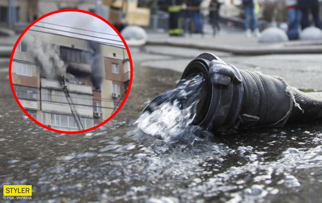 Женщина была в паре метров от пожарных, но ее не спасли: детали жуткого пожара в Киеве