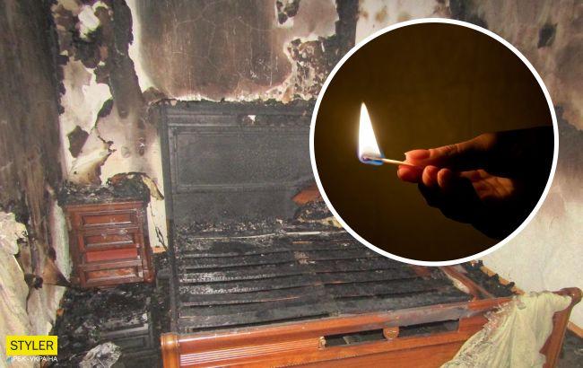 В Броварах женщина подожгла гостиницу из-за невыплаченной зарплаты