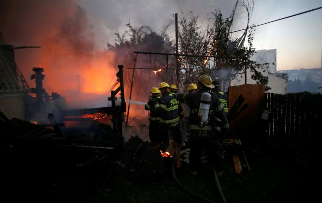 Арестованы подозреваемые вподжогах— Пожары вИзраиле