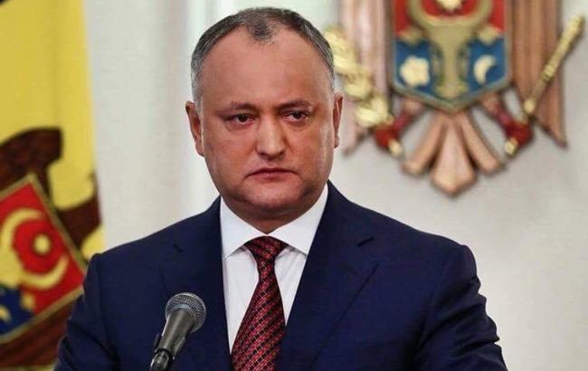 В Молдове парламент угрожает президенту Додону отстранением от должности