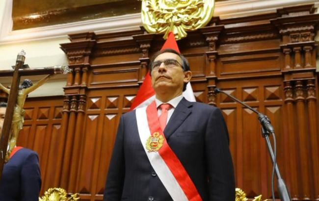 Фото: президент Перу Мартин Вискарра (https://twitter.com/prensapalacio)