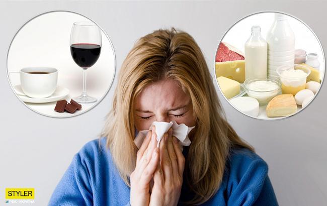Что лучше не есть при простуде: врачи назвали топ-6 продуктов