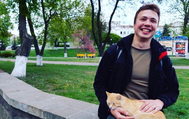 З'явилося відео з Протасевичем на Донбасі: кадри розвінчали всі фейки