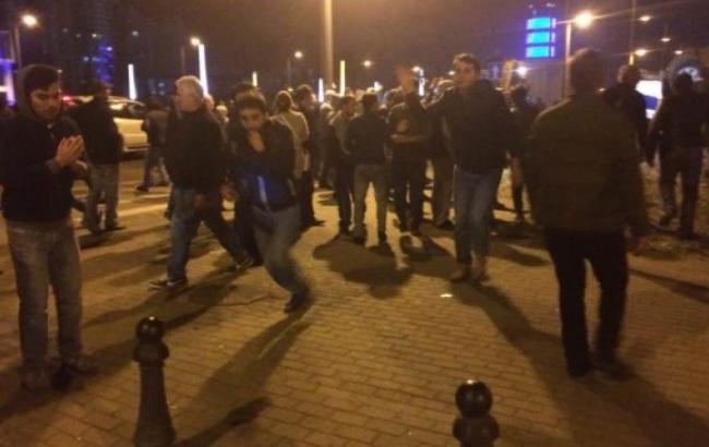 Грузинская милиция разогнала акцию протеста вБатуми при помощи слезоточивого газа