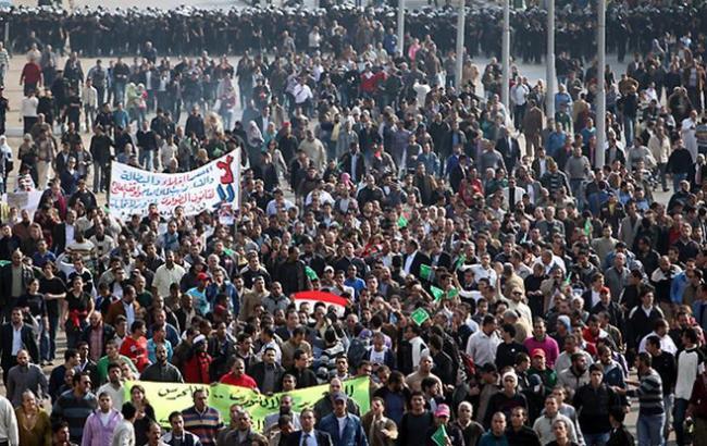 Фото: в Египте протестуют против передачи островов