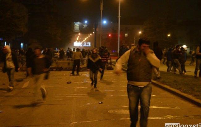 Милиция провела специализированную операцию поразгону протестующих— Беспорядки вБатуми