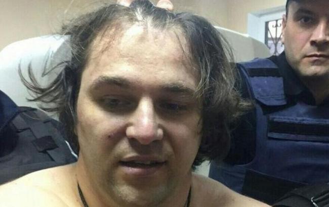 Фото: подозреваемый в расстреле патрульных в Днепре
