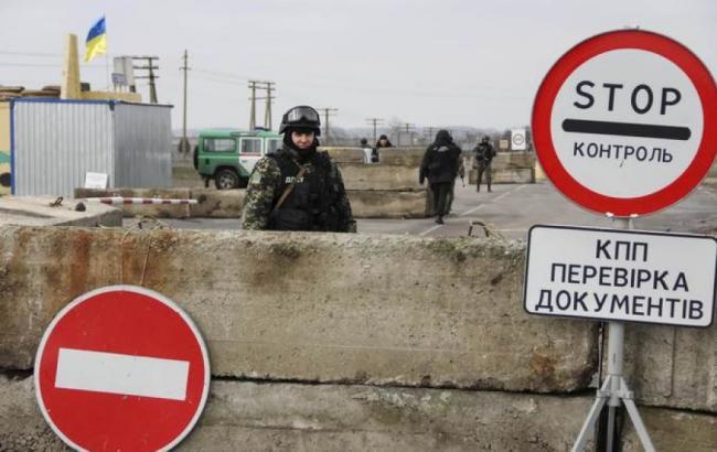 """Фото: бойовики обстріляли КПВВ """"Гнутове"""""""