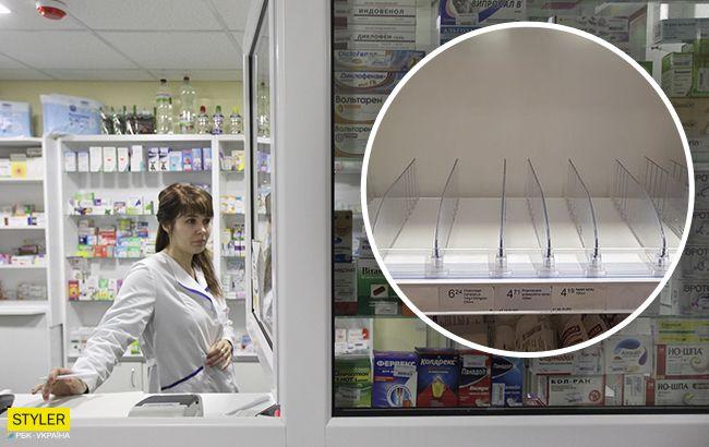 Карантин в Киеве: в аптеках уже нет средств от коронавируса