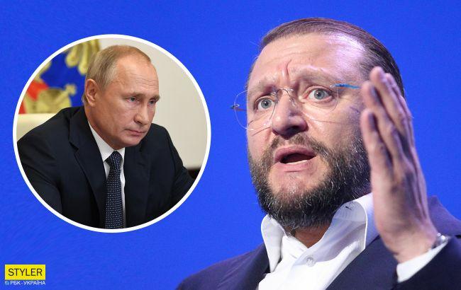 Добкін висловився про любов до Путіна: з колін підняв
